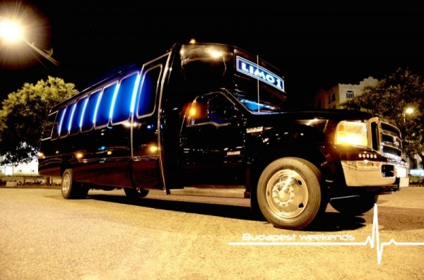 budapest ford party limo