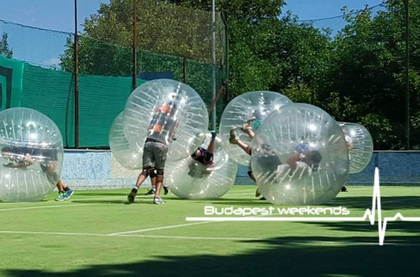 bubble football budapest